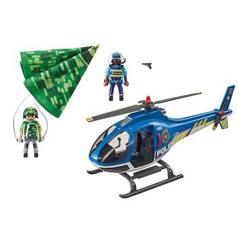 PLAYMOBIL HELICOPTERO DA POLICIA COM PARAQUEDAS - SUNNY 2554