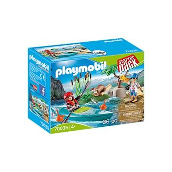 Playmobil Starter Pack Aventura Com Kayak - Sunny 1618