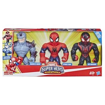 PLAYSKOOL SUPER HERO MEGAMIGHTIES PACK COM 3 - HASBRO E4842