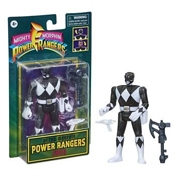 POWER RANGERS MIGHTY MORPH RETRO BLACK RANGER - HASBRO F0285