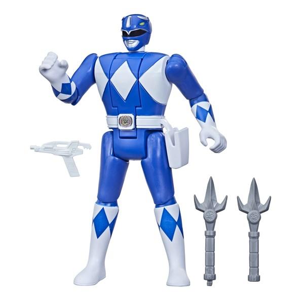 POWER RANGERS MIGHTY MORPH RETRO BLUE RANGER - HASBRO F0285