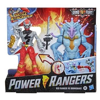 POWER RANGERS - RANGER VERMELHO VS DOOMSNAKE - HASBRO F1261