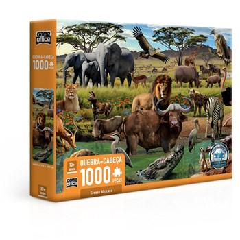 QUEBRA CABEÇA 1000 PÇS SAVANA AFRICANA - TOYSTER 2819