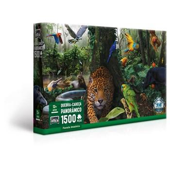 Quebra-Cabeça 1500 Pçs Floresta Amazônica - Toyster