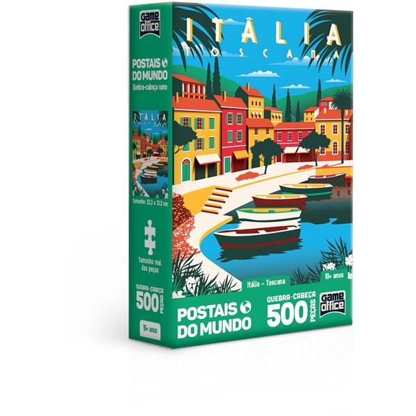 QUEBRA CABEÇA 500 PÇS ITÁLIA TOSCANA - TOYSTER 2837