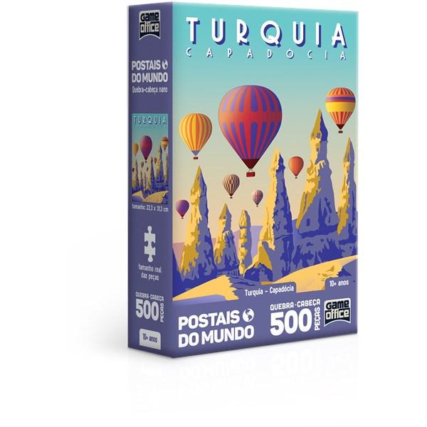QUEBRA CABEÇA 500 PÇS TURQUIA CAPADÓCIA - TOYSTER 2838