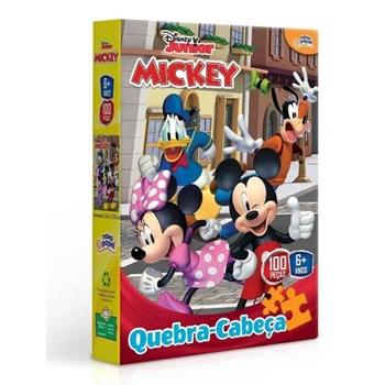 Quebra-cabeça Disney 100 Pçs Mickey - Toyster 8001