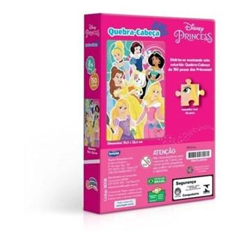Quebra-cabeça Disney 150 Pçs Princesas - Toyster 8008