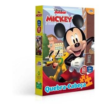 Quebra-cabeça Disney 60 Pçs Mickey - Toyster 8000