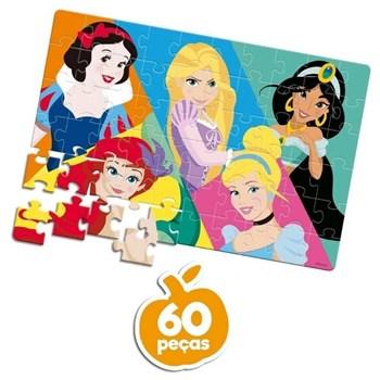 Quebra-cabeça Disney 60 Pçs Princesas - Toyster 8006