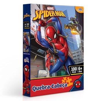 Quebra-cabeça Marvel 100 Pçs Homem Aranha - Toyster 8013