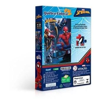 Quebra-cabeça Marvel 150 Pçs Homem Aranha - Toyster 8014