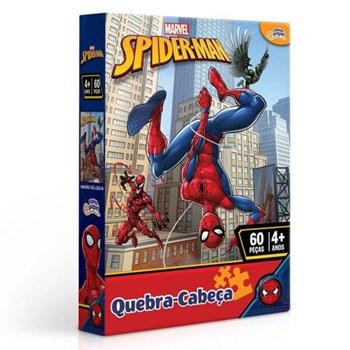 Quebra-cabeça Marvel 60 Pçs Homem Aranha - Toyster 8012