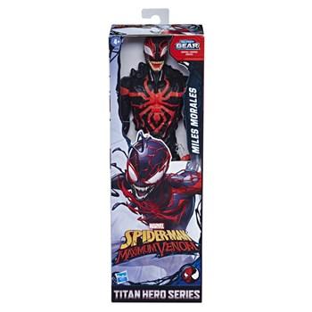 SPIDER MAN FIGURA  TITAN MAX  MORALES VENOM - HASBRO E8686