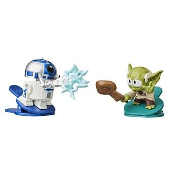 Star Wars Battle Bobblers R2-D2 VS Yoda - Hasbro E8026