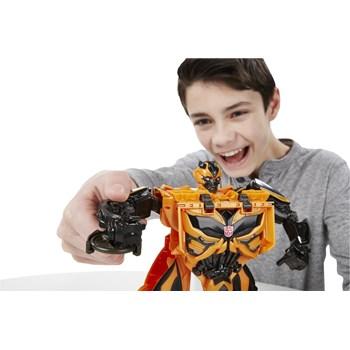 Transformers Buzzworthy Bumblebee Mega One Step-Hasbro F1205