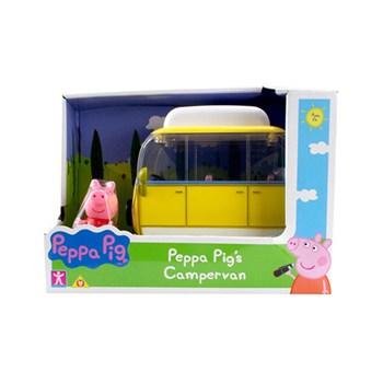VEÍCULO PEPPA PIG TRAILER AMARELO COM BONECO - SUNNY 2307
